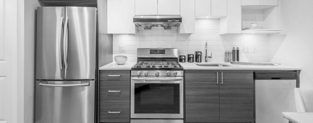 cucina moderna elettrodomestici