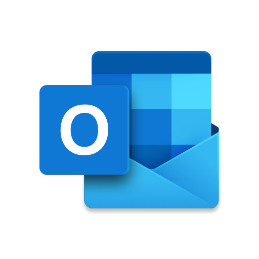 Outlook 2019 blu icona